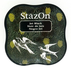 Stazon inktpad Midi Jet Black SZ-MID-31