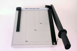 Nellie choice PAT001 Nellie's XL metal Papercutter (guillotine) with slider 30 cm (metric scale)