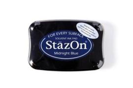 Stazon inktpad Midnightblue SZ-000-062