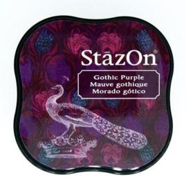 Stazon inktpad Midi Gothic Purple SZ-MID-13