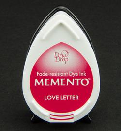 MD-000-302 Memento Dew drops Love Letters