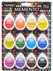 MD-012-100 set Memento Dew Drops Gum drops