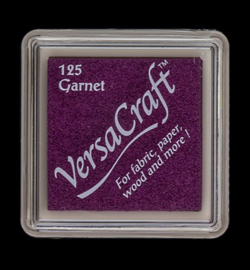 VK-SML-125 Versacraft inkpad small Garnet