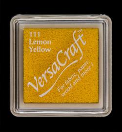 VK-SML-111 Versacraft inkpad small Lemon Yellow