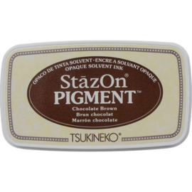 SZ-PIG-041 Stazon pigment inkpad Chocolate Brown