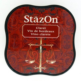 Stazon inktpad Midi Claret SZ-MID-23