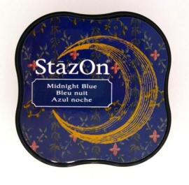 Stazon inktpad Midi Midnight Blue SZ-MID-62