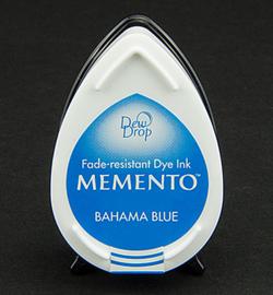MD-000-601 Memento Dew drops Bahama blue