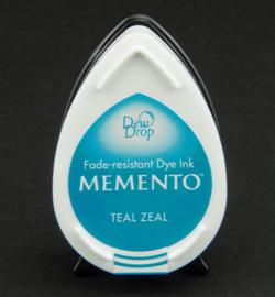 MD-000-602 Memento Dew drops Teal Zeal