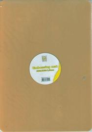 Nellie choice A4 MAT002 rubber embossing mat 205x295x1,5mm