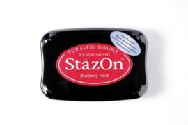 Stazon inktpad Blazing Red SZ-000-021