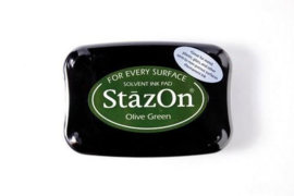Stazon inktpad Olive green SZ-000-051