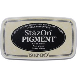 SZ-PIG-031 Stazon pigment inkpad Piano black