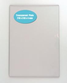 Nellie choice NPBT002 transp. 4mm snijplaat A4, voor snijden extra hoge dies