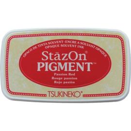 SZ-PIG-021 Stazon pigment inkpad Passion Red