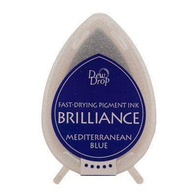 Brilliance Dew Drop Mediterrenian Blue BD-000-018