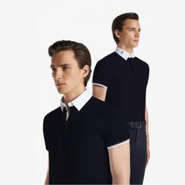 Cavalleria Toscana Heren Wedstrijdshirt 3 Stripe Polo
