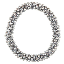 EquiHair Knotband Zilver