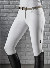 Equiline Ladies Ash X-Grip knee patch rijbroek White