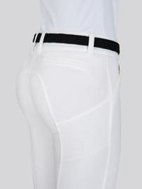 Equiline X-Shape Half Grip Rijbroek Wit