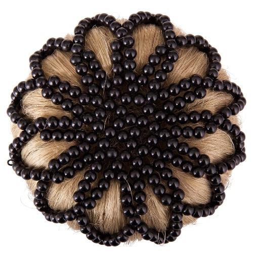 EquiHair Pearl knotnet zwart