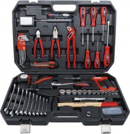 Dopsleutel gereedschapskoffer - 82 stuks