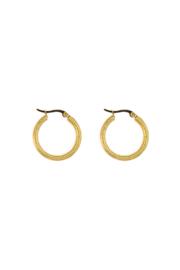 Golden modern hoops (20mm)