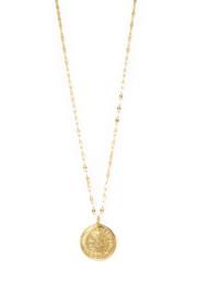 Golden France coin