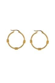 Golden ring hoops