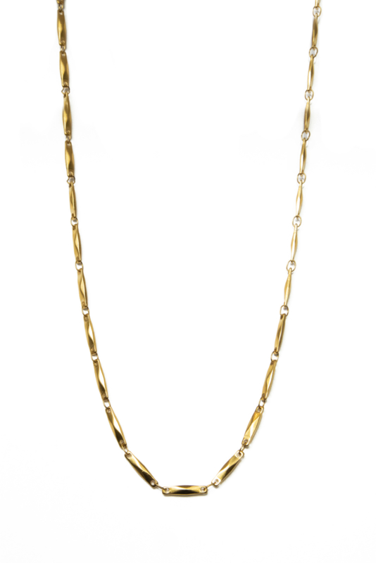 Golden vintage chain