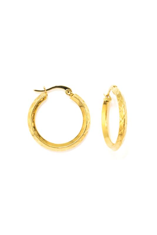 Golden special hoops