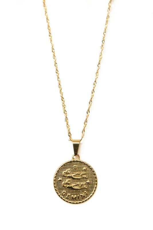 Golden zodiac - Gemini