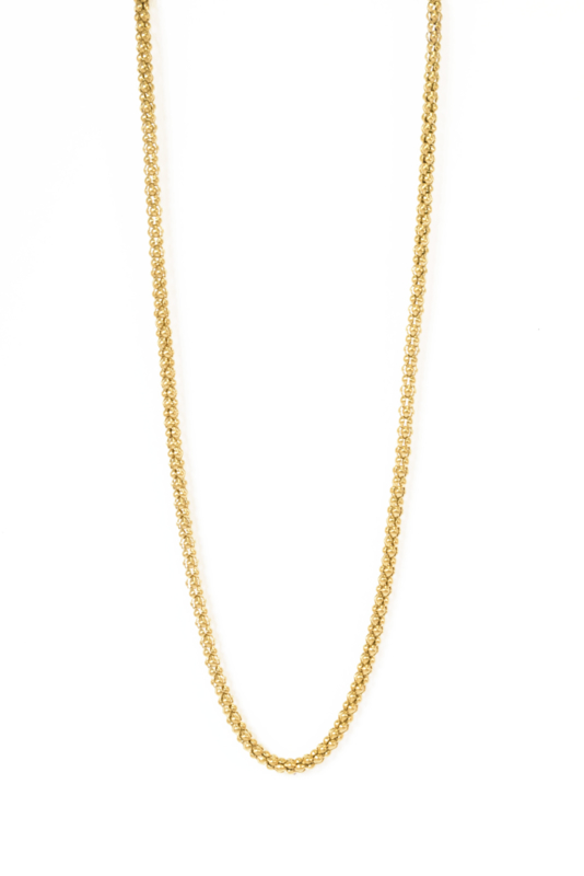Golden short big chain
