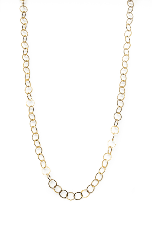 Golden round chain
