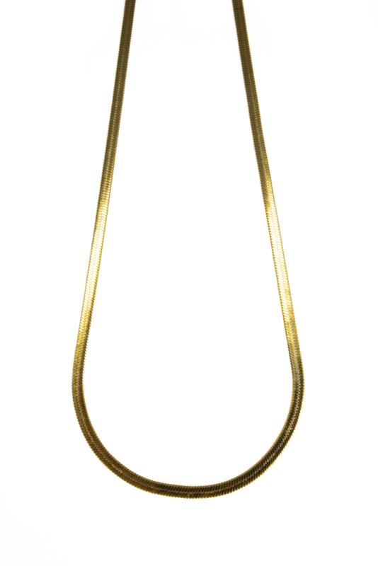 Golden flat chain