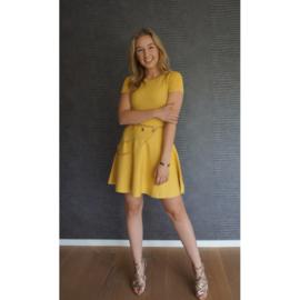 ESMEE jurk geel