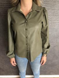 MOLLY blouse groen
