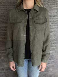 KIKI blouse groen