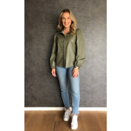 MOLLY blouse groen