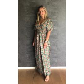 LAUREN jurk groen