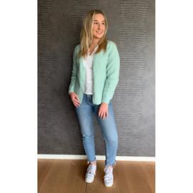 LOTTE vest turquoise