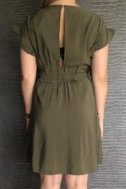 CHARLOTTE  jurk groen