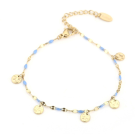 SPRING STONES armband goud