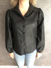 MOLLY blouse zwart