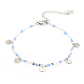 SPRING STONES armband zilver