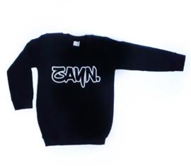 Sweater naam - graffiti lettertype