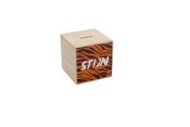 Spaarpotje - tijgerprint