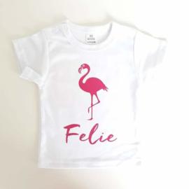 Shirtje met eigen naam en afbeelding