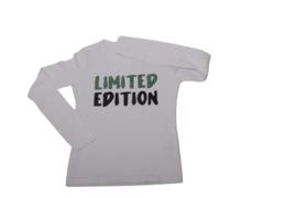 Shirtje - Limited edition - luipaardprint groen