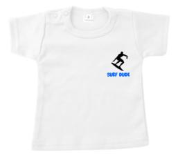 Shirtje - surf dude - neon